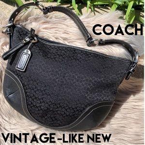 Vntg Coach hobo style purse